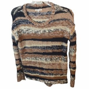 American Eagle Outfitters Striped Fuzzy Sweater